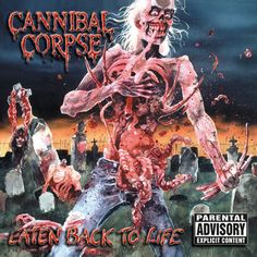 "Cannibal+Corpse+""Eaten+Back+To+Life+(Reissue)""+CD+at+https://www.indiemerchstore.com/"