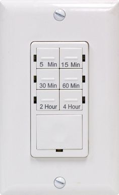 GE Push Button Digital In-Wall Countdown Timer $18 prime