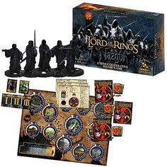 In The Lord of the Rings: Nazgul Board Game, you are faced with three Campaigns that you must conquer before the Ring-bearer carries The One Ring to Mount Doom. If you cannot complete them in time, all players lose! Along the way, you will earn Victory Points; and if the group succeeds in its duty, the player with the most VPs wins!