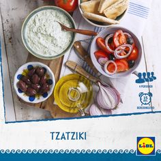 Heerlijk Grieks recept voor Tzatziki #Lidl #Griekenland
