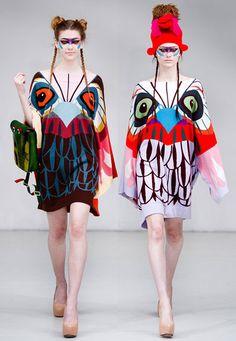 Yang Du, love this owl inspired print!