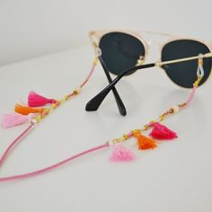 DARK RED WINTERDREAM shadeloops // eyeglass chain by shadeloops