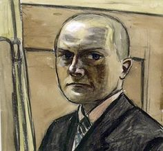 ARTS This is a picture of a self portrait of the German artist Max Beckmann. He along with other artists started the expressionist style of painting in the early 1900's on Germany.