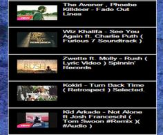365 Days With  Music: #Top5 #Songs for the #Week - 13 #April 2015 Nº 1 - The Avener , Phoebe Killdeer - Fade Out Lines Nº 2 - Wiz Khalifa - See You Again ft. Charlie Puth ( Fast & Furious 7 #Soundtrack ) Nº 3 - Zwette ft. Molly - Rush ( #Lyric #Video ) Spinnin' Records Nº 4 - Kokiri - Turn Back Time ( Retrospect ) Selected. Nº 5 - Kid Arkade - Not Alone ft Josh Franceschi ( Tom Swoon #Remix )( #Audio )…