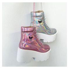 Kokopie shop // Patrizia Con Zapatos e Kawaii Shoes, Kawaii Clothes, Aesthetic Shoes, Aesthetic Clothes, Sneakers Fashion, Fashion Shoes, Fashion Outfits, Dream Shoes, Crazy Shoes