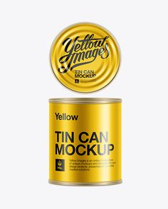 Tin Can Mock-Up. Preview