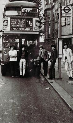The Rolling Stones, London, 1960's