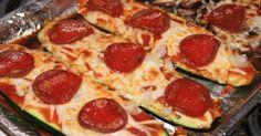 Zucchini Pepperoni Pizza 2 Smartpoints - weight watchers recipes