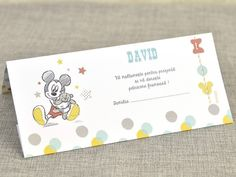 Mapa bani Mickey the Mouse 5721 Mickey Mouse, Cots, Character, Baby Mouse