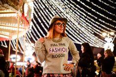 Motivational sweater; Sibiu Christmas Fair 2014