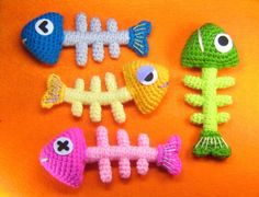 Espina de pescado de ganchillo patrones PDF por stripeyblue