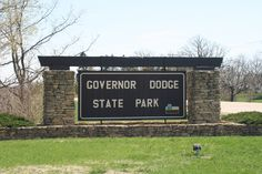 If you are ever near our home, Dodgeville, #Wisconsin, we recommend that you visit the beautiful Governor Dodge State Park!