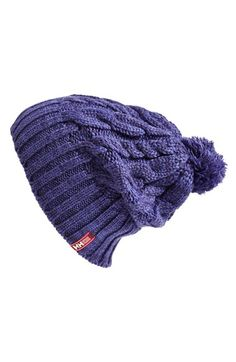 Helly Hansen 'Montreal' Chunky Knit Beanie available at Sailing Gear, Helly Hansen, Knit Beanie, Cable Knit, Montreal, Coloring, Winter Hats, Gloves, Nordstrom