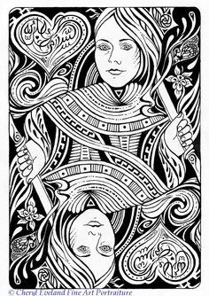 Queen Of Hearts Design | Cheryl_Eveland_Queen_of_Hearts 960.1360