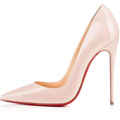 Christian Louboutin So Kate ($675) ❤ liked on Polyvore featuring shoes, pumps, heels, christian louboutin, louboutin, ballet pumps, stiletto heel pumps, pointy-toe pumps, sexy pumps and high heel shoes