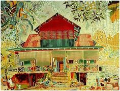 Back in February 2001 I travelled to the glorious island nation of the Republic of Seychelles. Island Nations, Printmaking, The Good Place, House Styles, Creative, Illustration, Islands, Artwork, Decorating Ideas