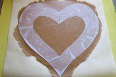 Torta v tvare srdca, recept, Torty | Tortyodmamy.sk Ham, Bakken, Hams