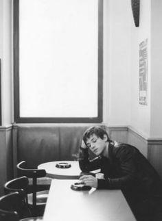 Gaspard Ulliel as Gaspard ( Barrier ) Dagard Kylie Scott, Gaspard Ulliel, Red Umbrella, French Models, Cafe Style, Photo B, Photoshoot Inspiration, Dream Guy, Beautiful Moments