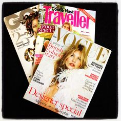 Some of the December publications that #CountryAttire has featured in! #Vogue, #GQ, #CNTraveller