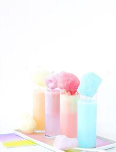 These Cotton Candy Ideas Are The Next Big Thing Unicorn Party, Unicorn Birthday, Unicorn Wedding, 12th Birthday, Cream Soda, Ice Cream, Milkshake Recipes, Festa Party, Pink Cotton Candy