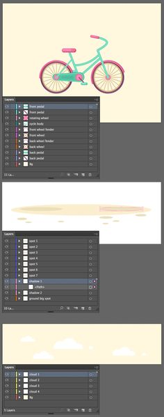 Animate a Cute Vector Bicycle in Adobe After Affects