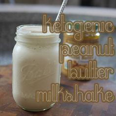 Ketogenic Peanut Butter Milkshake | Cooking Is Pun