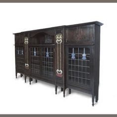 Charles Rennie Mackintosh: An Important and Unique Bookcase  Designed 1895