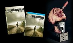 The Walking Dead 2nd Season limited edition Blu-ray. Zombie head!!! NO RESERVE!! FREE SHIPPING!!! Must See!!!