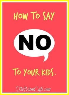 Read how you can effectively say no to your #kid. #Parenting can be challenging,  and saying no can teach our #children many #lifelessons