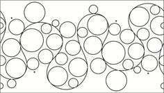 R&S Design: Shop | Category: Pattern Boards - By Designer | Product: PR Whole Lotta Bubbles