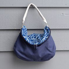 ikat bag: Zip A Bag Chapter 8: Fold-Over Shoulder bag