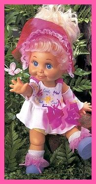 Ten Years of Baby Face Dolls by Galoob