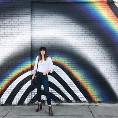 Throw on a driver's cap and pose in front of a Instagrammable wall