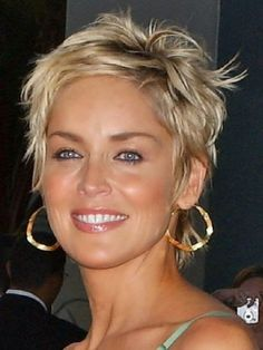 Sharon stone hairstyles short hair google search hair short shag hairstyles for women over 50 back veiws bing images urmus Choice Image