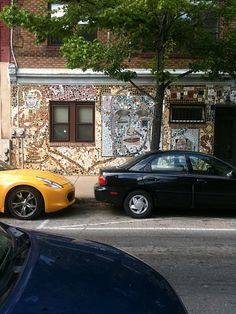 S. Clifton and Bainbridge, Philadelphia. Isaiah Zagar mosaic