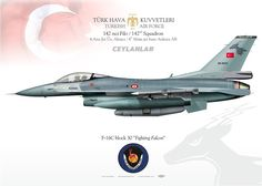"TURKISH AIR FORCE . Türk Hava Kuvvetleri 142 NCİ FİLO ""Ceylanlar"", Ankara AB. 2015"