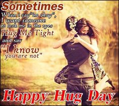 Shayari Hi Shayari: hug day images quotes wallpapers 2016 Happy Hug Day Images, Happy Kiss Day, Blind Love, Love Quotes With Images, Shayari Image, Whatsapp Message, Romantic Love, Romantic Kisses, Day Wishes