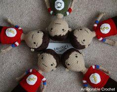 Sheldon Doll *With Pattern* - CROCHET
