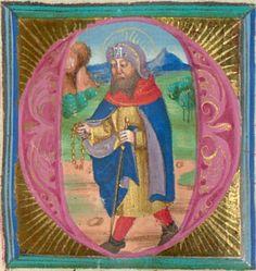 Furtmeyr, Berthold: Buchmalerei der Renaissance Gebetbuch - BSB Cgm 125,  Regensburg, 15. Jh. Folio 48