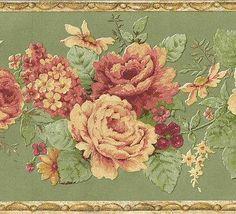 B.6230 Wallpaper Border Floral