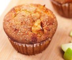 Heerlijke lijnzaad muffins met appel. Koolhydraatarm tussendoortje. Ontdek waarom lijnzaad zo gezond is. Makkelijk Afvallen & lekker blijven eten.