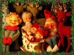 Vintage - Christmas Decorations
