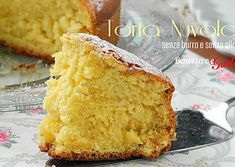 TORTA PAN NUVOLA- Alta e soffice senza burro e olio