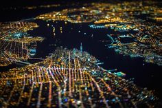 Daring Photographer Captures Night Photos of NYC Skyline from 7,500 Feet | The Creators Project