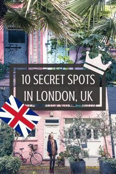 10 secret spots in London. Hidden, secluded and offbeat destinations in London, England. Here's your unique guide to the best of off the beaten tourist track London!