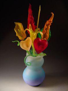 DeMoss Glass Art ~ Gallery, Sculptural