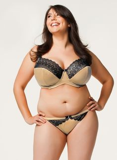 de364cf65ca52 Ginger Macaroon Bra and Thong by Cake Lingerie