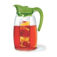 Epoca International Inc. - Primula® Flavor It™ Pitcher with Flavor Infuser Infusion Pitcher, Iced Tea Pitcher, Kitchen Gadgets, Kitchen Stuff, All Modern, Modern Furniture, Lifestyle, Lighting, Home Decor