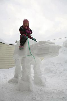 Another star wars snow scupture - CAABOH - Enjoy the Jokes