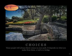 CHOICES by WestExpression on Etsy https://www.etsy.com/listing/463376672/choices